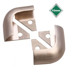 STAINLESS STEEL EFFECT TRADE TRIM CORNERS