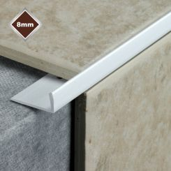 8MM L SHAPE PVC TILE EDGE