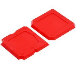 2 PCS SILICONE APPLICATORS RED
