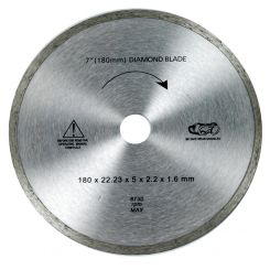 DIAMOND SPARE BLADE 180mm X 22.23mm