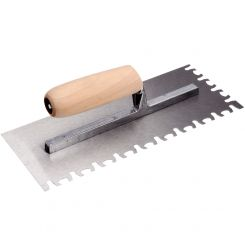 HIGH CARBON STEEL TIGER NOTCH TROWEL