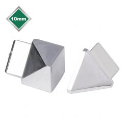 SILVER TRIANGULAR TRIM CORNERS