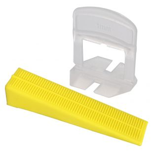 1MM LEVELLING SPACER / WEDGE COMBINATION PACK