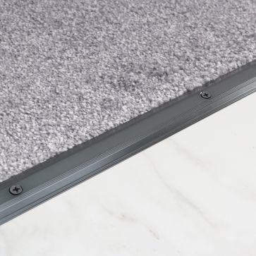 864mm CARPET/TILE TRIM BLACK NICKEL
