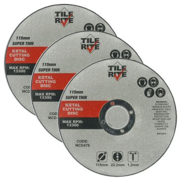 115MM SUPER THIN METAL CUTTING DISCS