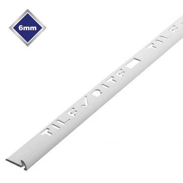 TILE EDGING WHITE (6mm)
