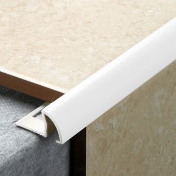 TILE EDGING WHITE (12mm)