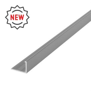 10mm L Shape Textured Light Grey