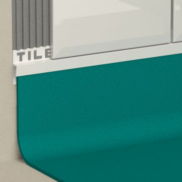 8.2MM VINYL/TILE CAPPING WHITE