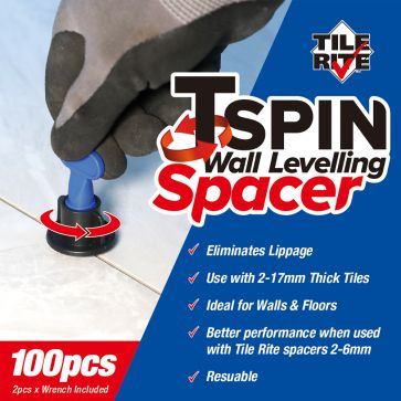 WALL LEVELLING SPACERS 100PCS